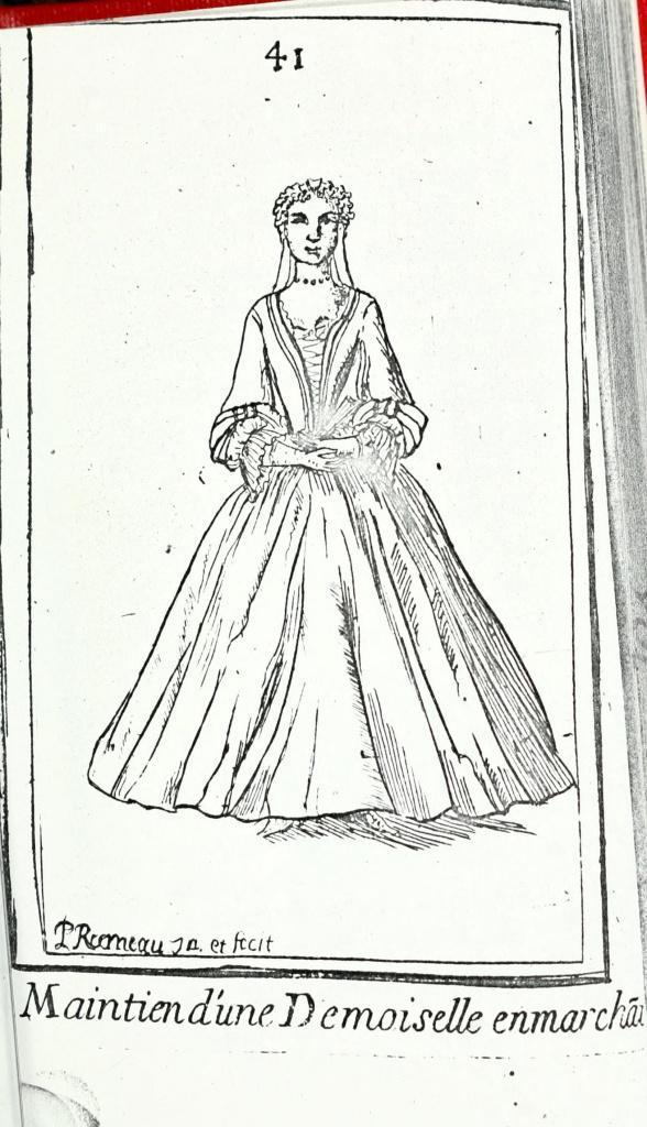 Рис. 9. Maitien d'une Demoiselle en marh [Rameau 1725: 41].