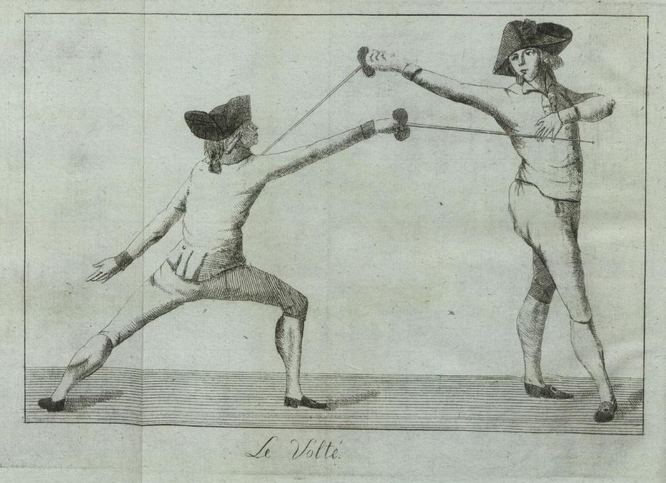 Рис. 22. Le Volté [Фишер 1796].
