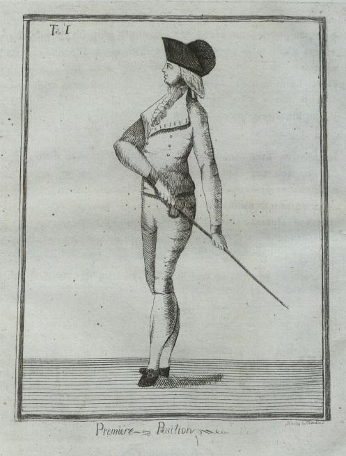 Рис. 21. Le Salut [Фишер 1796].