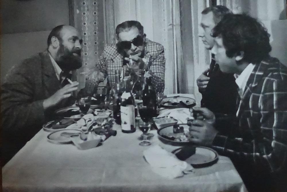 Рабочий момент из фильма «Уходя — уходи» (режиссер Виктор Трегубович. «Ленфильм», 1978) (Архив «Ленфильма»)