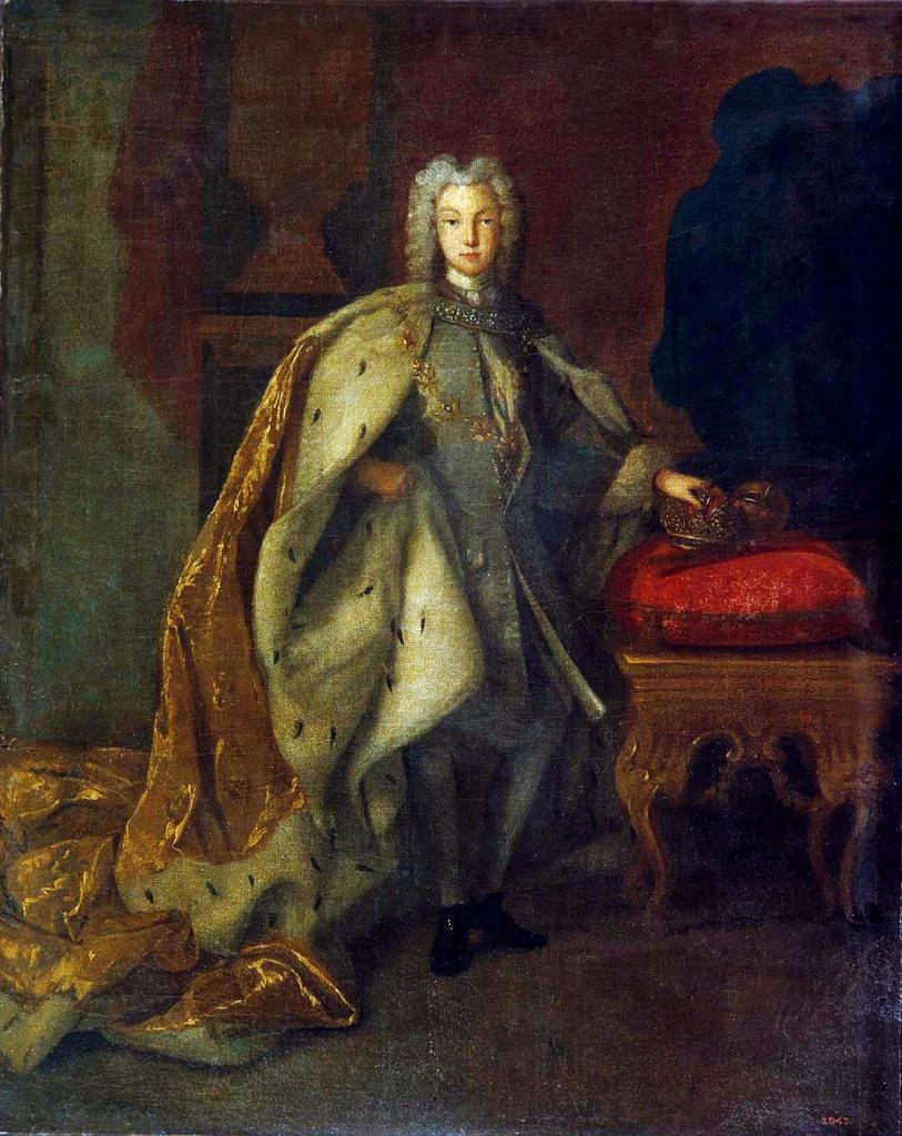 Рис. 4. Иоганн Пауль Люден. Портрет Петра II. 1728. © Русский музей, Санкт-Петербург, 2018.